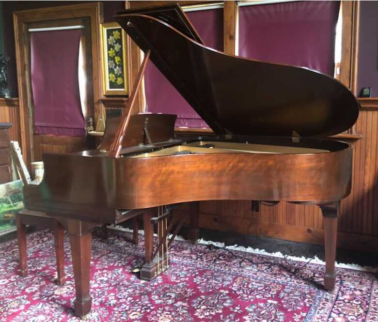 """Steinway M 5'7"""" grand with rebuilt action"""