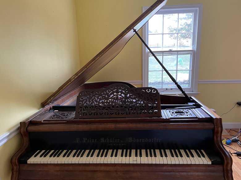 Vintage Bosendorfer Grand Piano