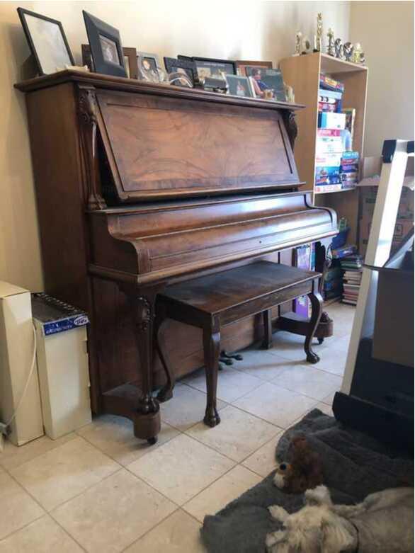 1909 Seaverns Piano Action Company