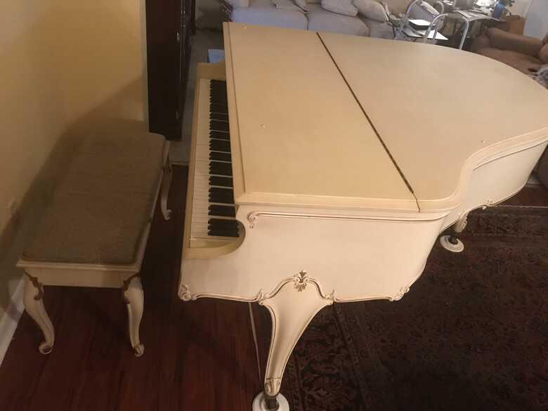 WEBER LOUIS XV GRAND PIANO, Vintage 1930, serial# 79709