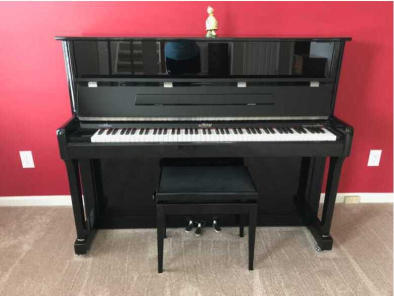 Upright Piano MAY by Schimmel (Germany) / one owner