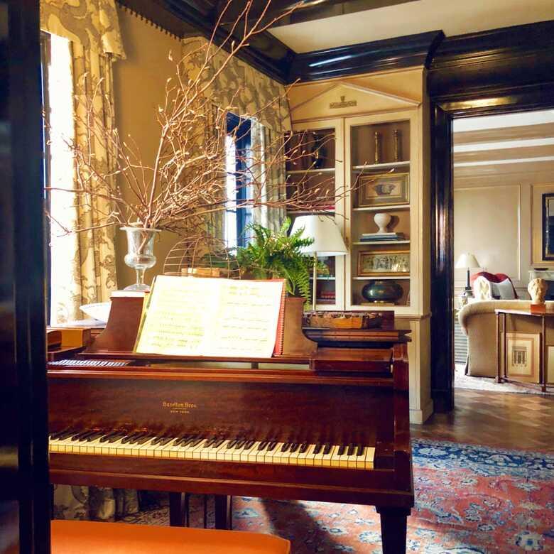 Gorgeous Hazelton Baby Grand Piano