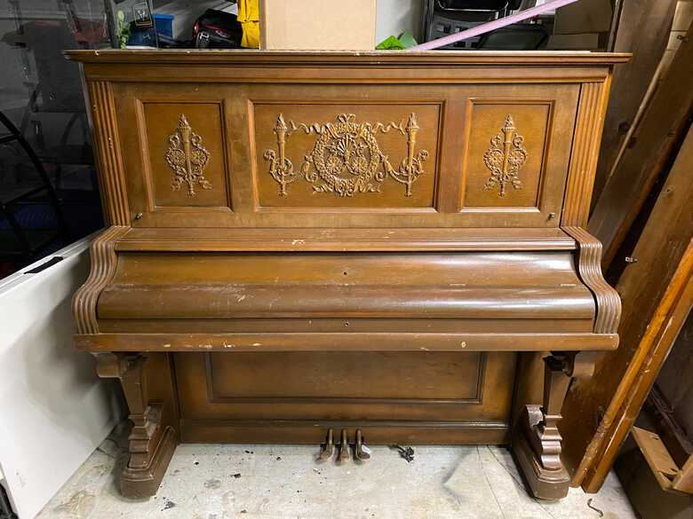 1895 Kimball Victorian Piano