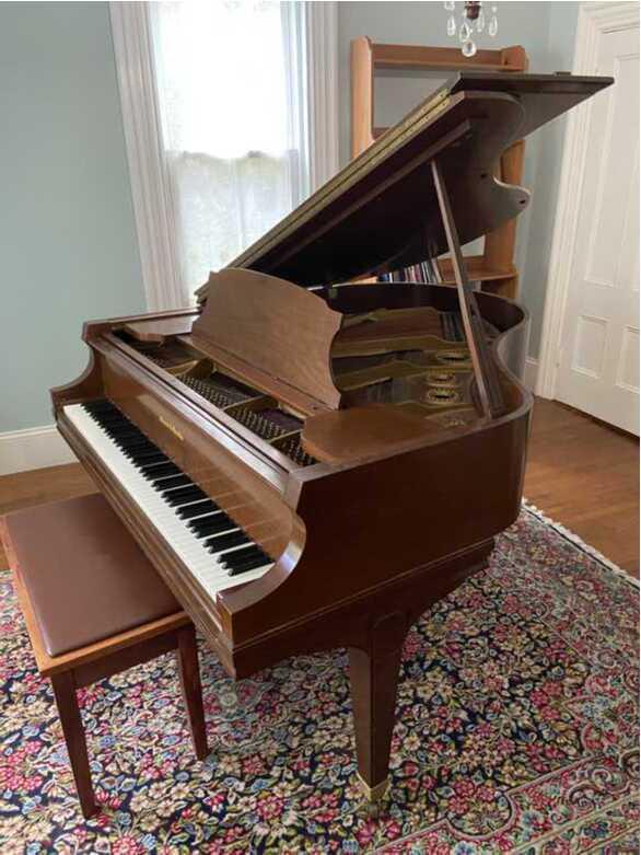 """Mason & Hamlin Grand Piano Model B—5'4"""", Boston, 19727"""