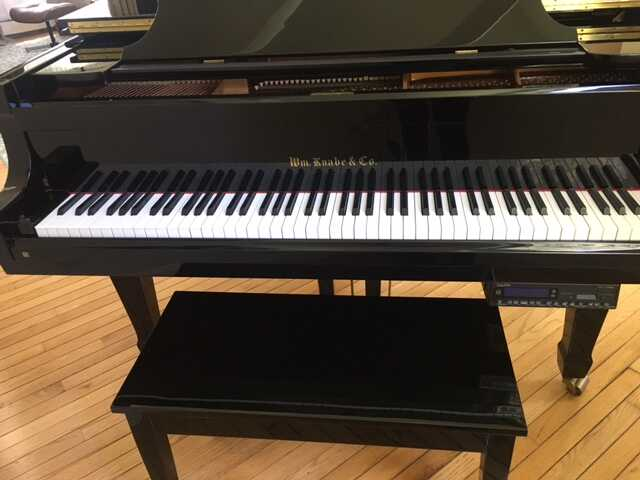 Knabe Grand Piano and Bench