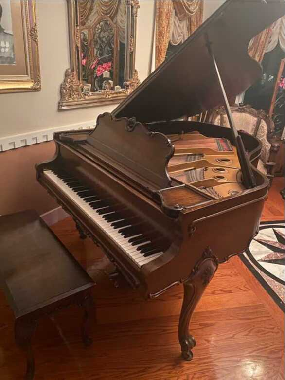 1930 Baldwin Antique Custom Made Grand Piano
