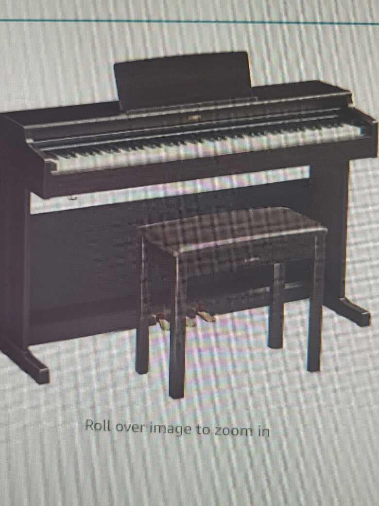 Yamaha YDP164 Arius Series Piano with Bench, Rosewood