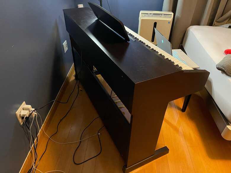 BRAND NEW YAMAHA PIANO