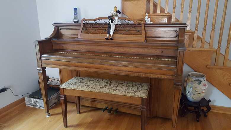 Kohler & Campbell piano, very good