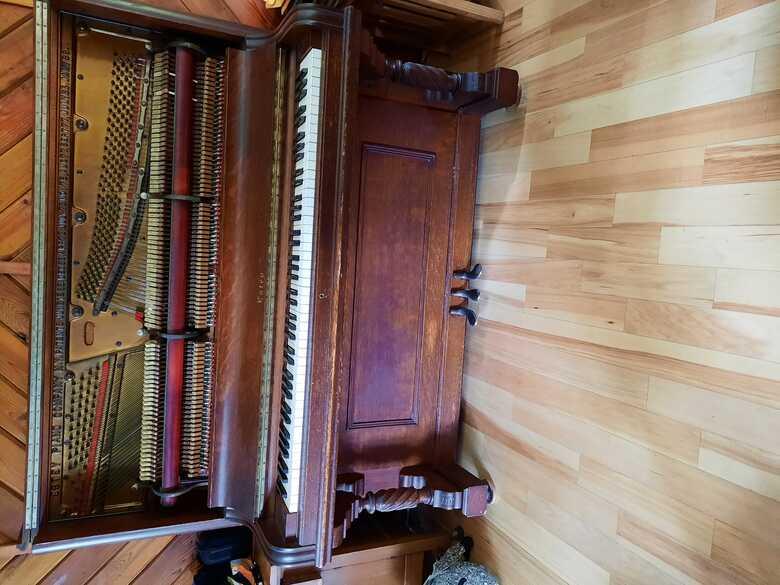 Estey Brown Upright Piano
