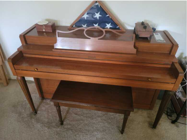 Howard Upright Piano for Sale