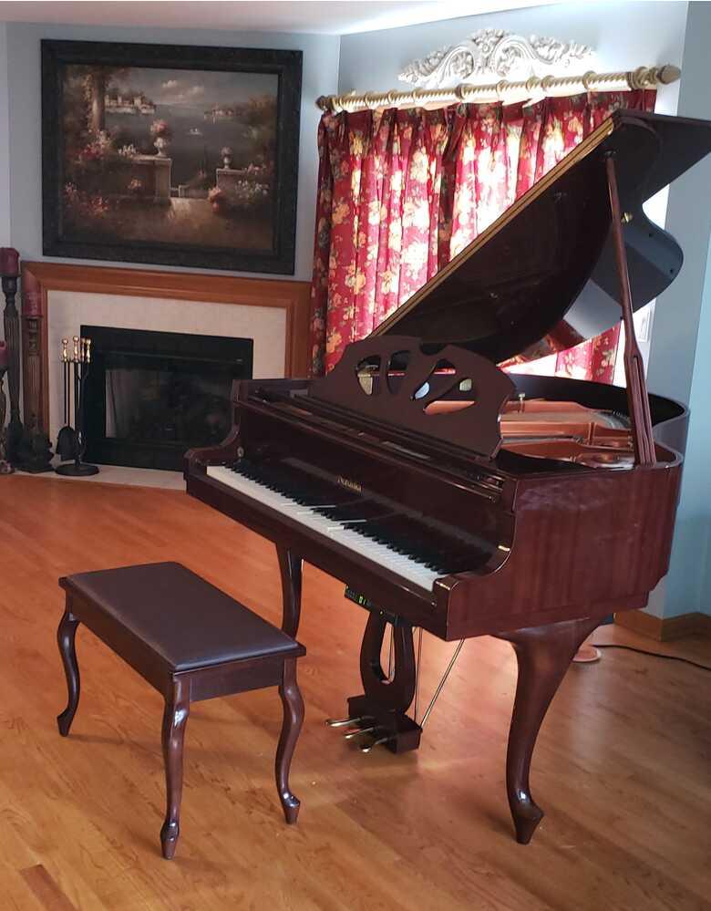 Barley used player piano
