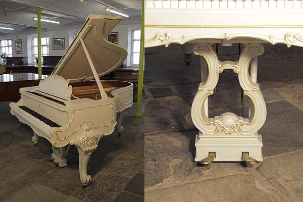 A 1979, Louis XV style, Steinway Model O grand piano