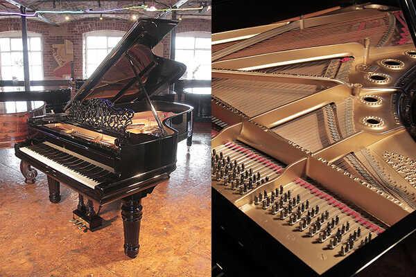 Restored, 1898, Steinway Model B grand piano