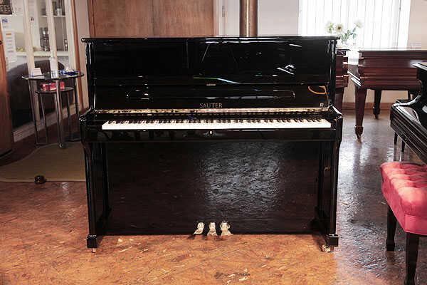 New, Sauter Ragazza upright piano. Double repetition action