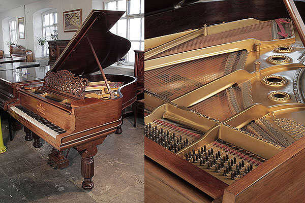 An 1895, Steinway Model A grand piano in rosewood
