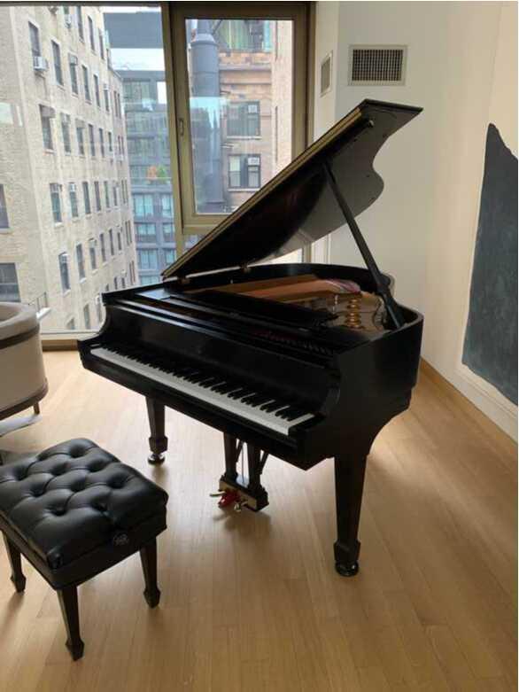 2000 Steinway Grand Piano Model S | Ebony