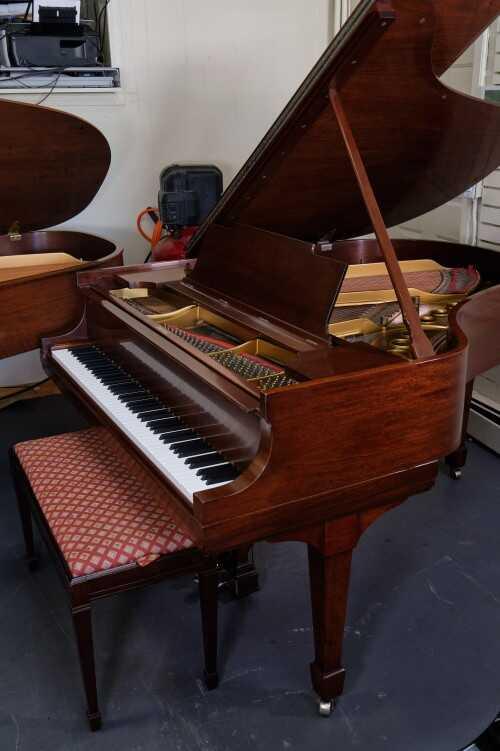 Steinway M 1924 Mahogany(REBUILT/REFIN) (VIDEO)Sonny'sPianos