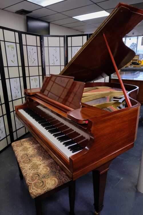 """Chickering Baby Grand 5'4"""" Rich tone(VIDEO)SonnysPianos"""