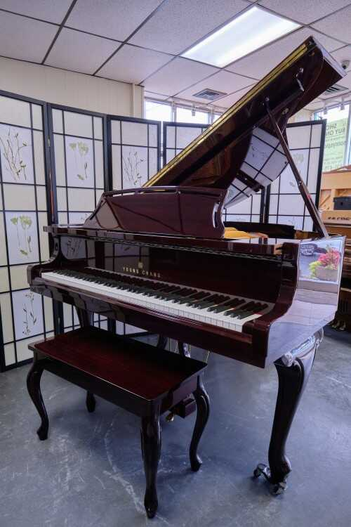 Young Chang Mahogany w/PianoDisc player (VIDEO)Sonny'sPianos