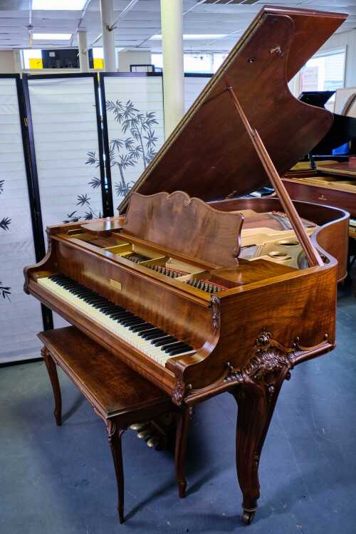 Art Case Knabe, Hand Carved, Gorgeous (VIDEO) Sonny's Pianos