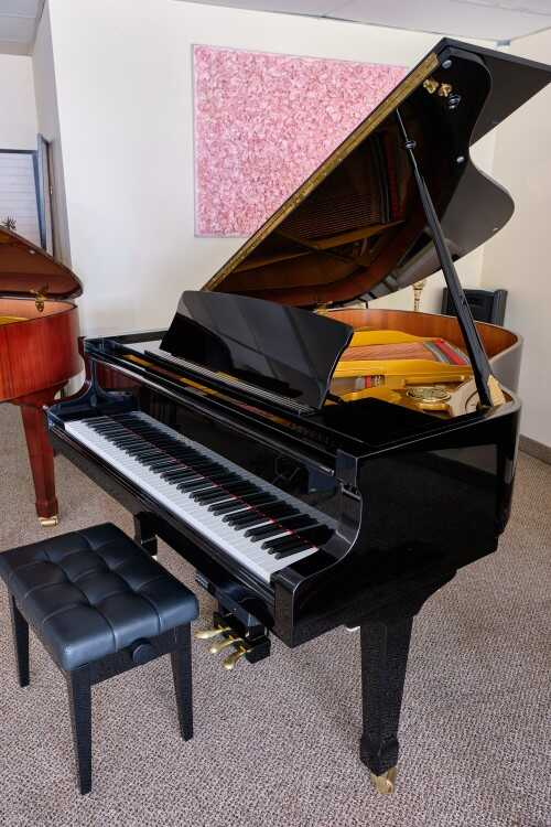 """Petrof Grand 5'8"""", w/PianoDisc CD player sys (VIDEO)Sonnys"""