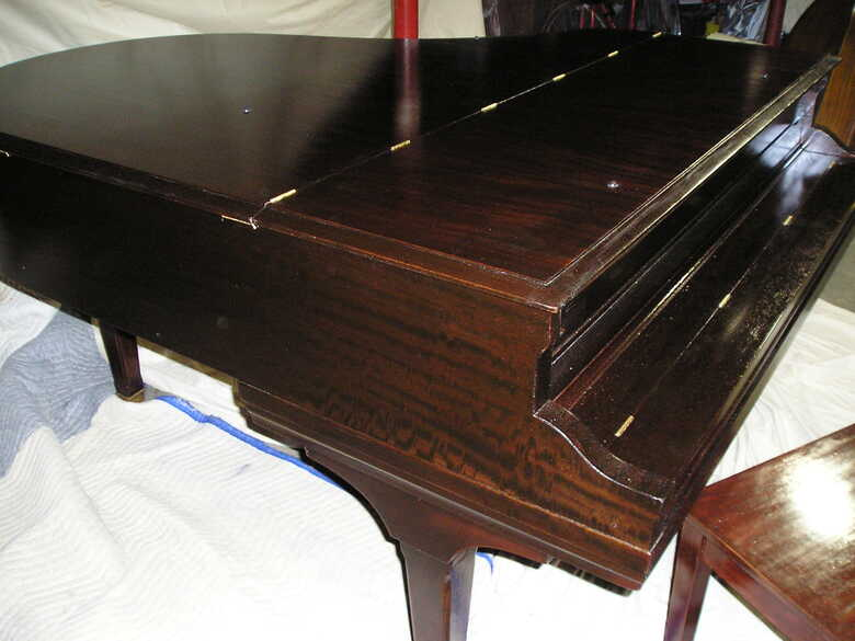 Piano: Vintage Henry F. Miller Grand For Sale
