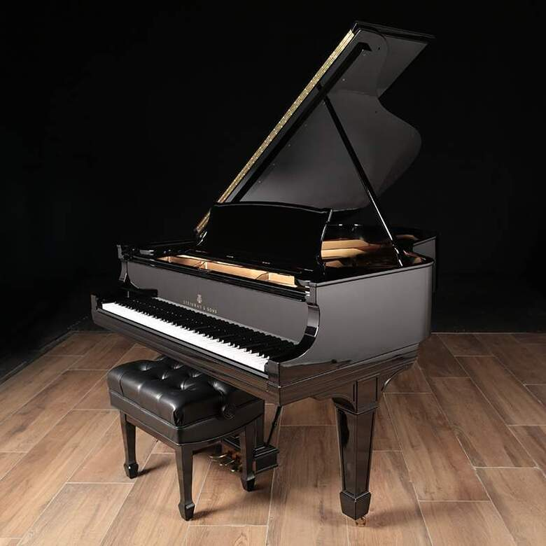 High Gloss Steinway Grand, Model A, Sold by Lindeblad
