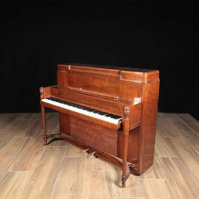 Steinway Art Deco Studio Piano - Sold by Lindeblad Piano