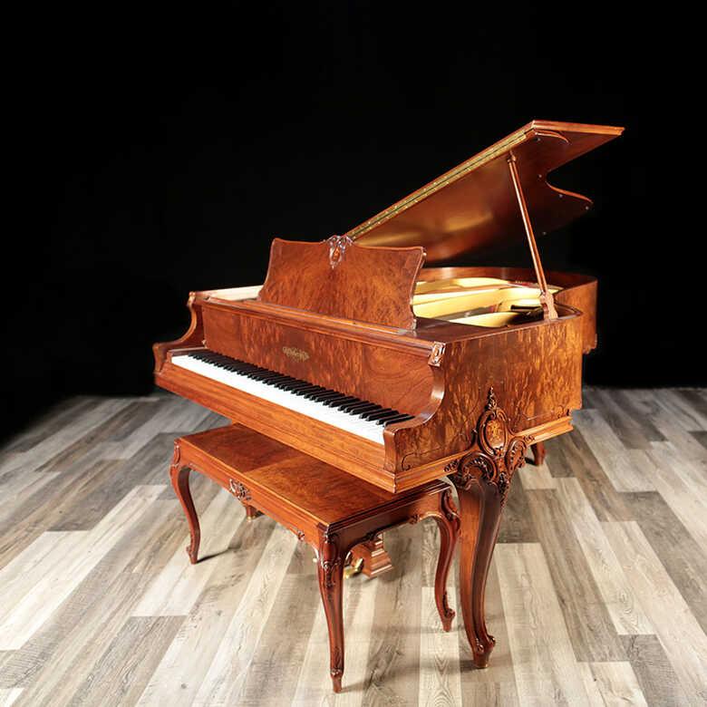 RARE Louis XV Chickering Grand Piano -Lindeblad Piano
