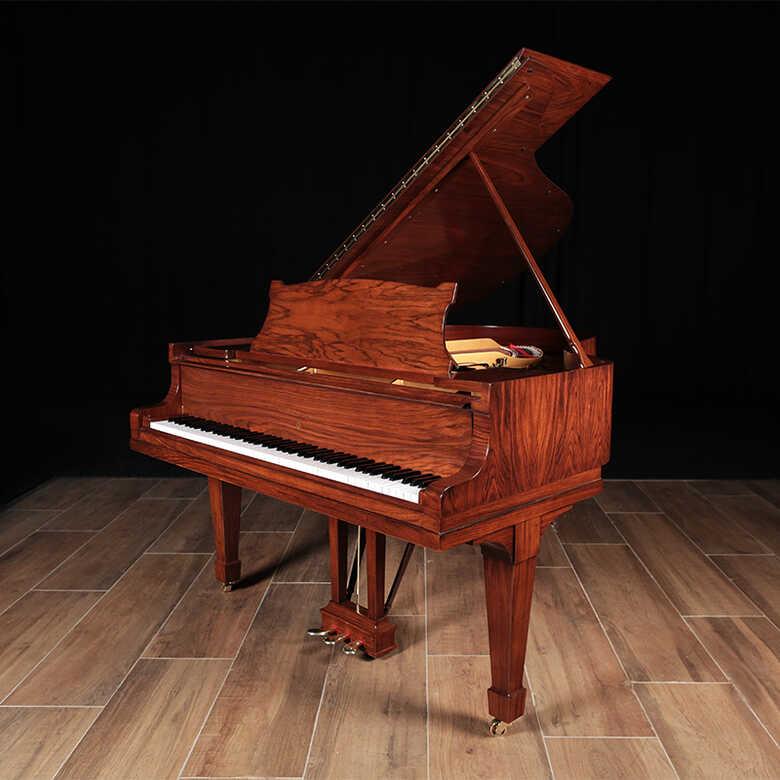 Restored HAMBURG Steinway Grand Piano, Model M, Rare Walnut