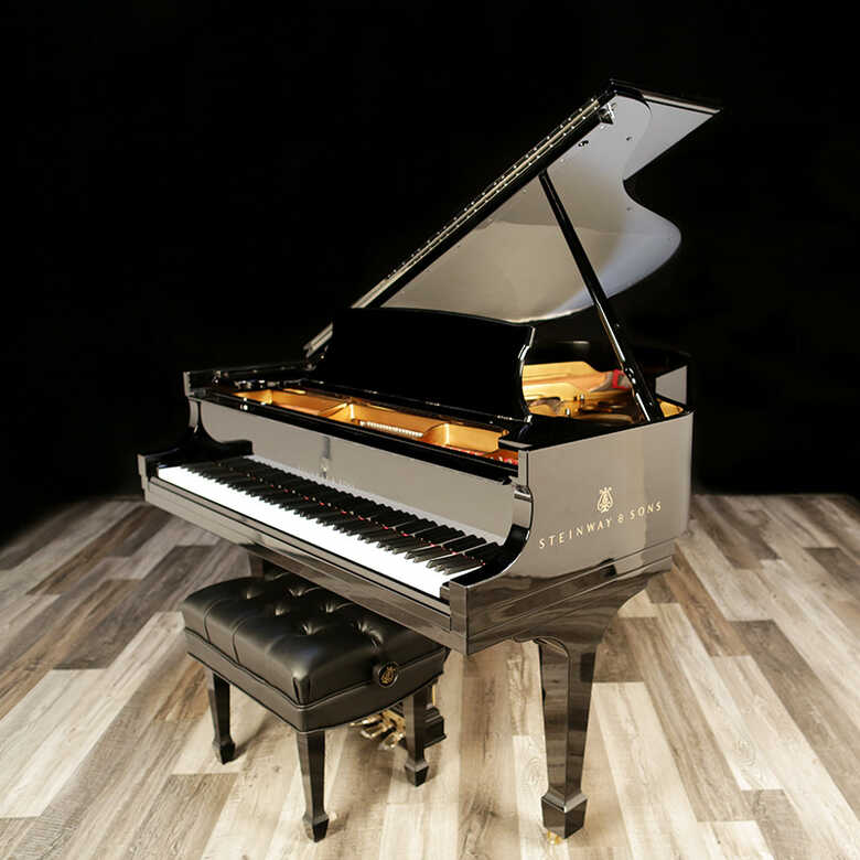 """2010 Steinway Grand Piano, Model O -5'10"""" - Mint Condition"""