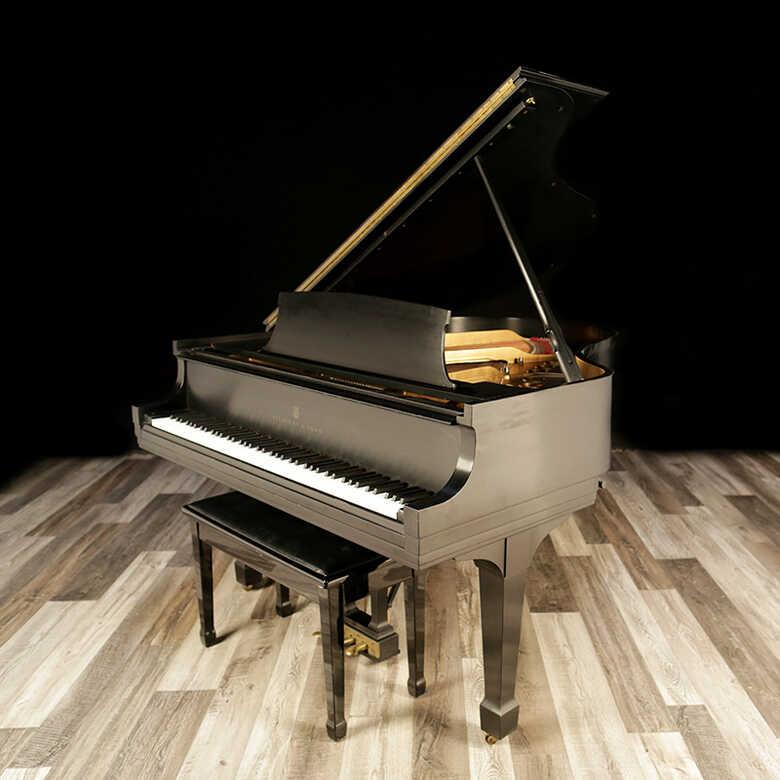 """1977 Steinway Grand Piano, Model M - 5'7"""""""