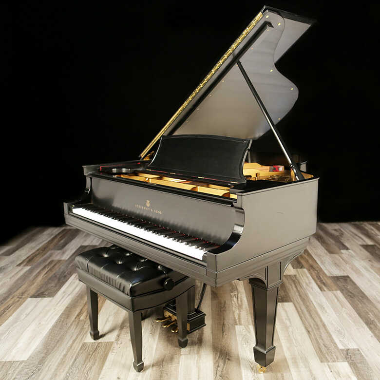 Restored Steinway Grand Piano, Model A - Sold by Lindeblad
