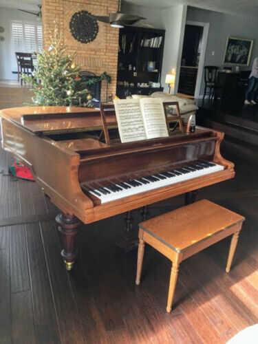 Stunning Bluthner 6'3 grand piano & steinway B key felt cove