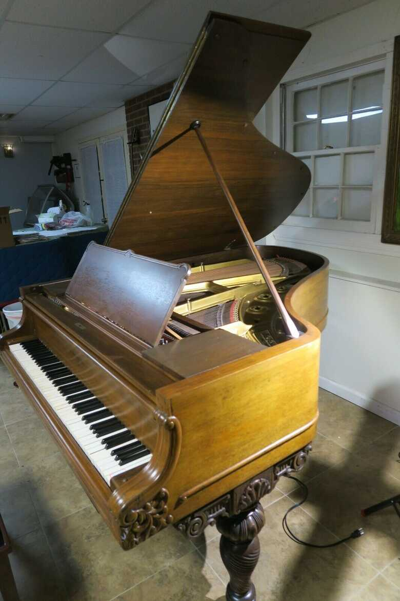 Majestic antique Knabe 6'1 self player grand piano