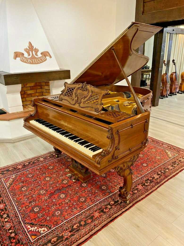 Majestic Bluthner 6'3 grand piano & steinway key felt cover