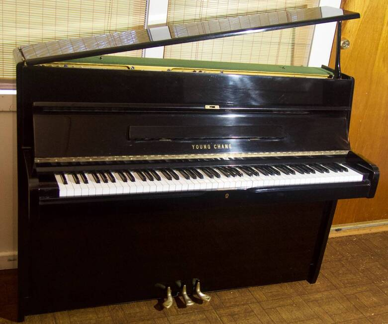 Sleek Euro-design Studio Piano